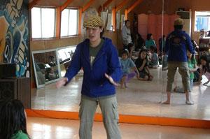 ストリートダンサー若菜 舞廊