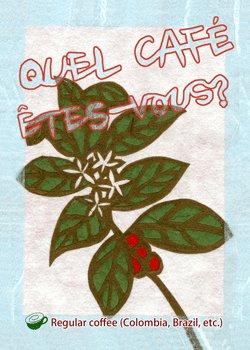 画像1: QUEL CAFE ETES-VOUS?(お好みは?)