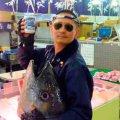 フィッシュロッカー 漁港 森田釣竿 OSAKANA COFFEE(マグロ専用)